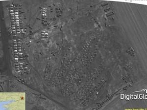 НАТО передал СМИ снимки российских войск у границ с Украиной