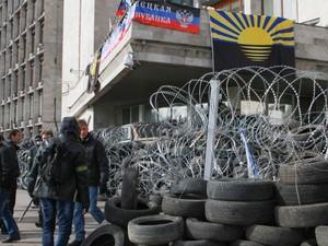 Сепаратисты из Донецка выдвинули два условия, при которых они уйдут с баррикад