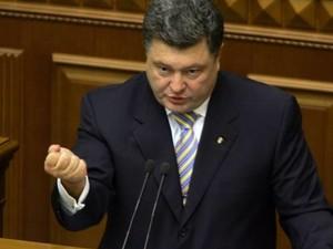 Порошенко объявил, что к захвату админзданий на Востоке Украины причастна семья Януковича