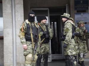 «Зеленые человечки» в Славянске проведут пресс-конференцию