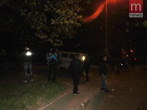 атака на воинскую часть в Мариуполе