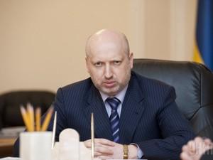 Турчинов рассказал, почему Антитеррористическая операция движется медленно