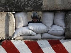 Под Луганском напали на украинский блокпост
