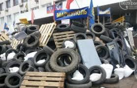 Столкновения произошли возле горуправления МВД.