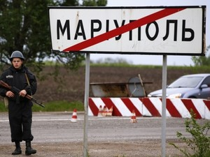 В Мариуполе обстрелян блокпост Нацгвардии