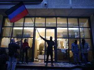 Более половины окружкомов на Донбассе подверглись захвату