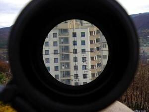 В Луганской области снайперы засели в жилых домах