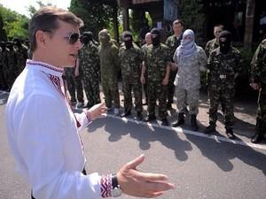 Батальон «Украина» освободил исполком Тореза, - Ляшко