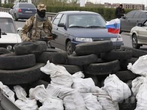 На блокпостах под Донецком стоят чеченцы