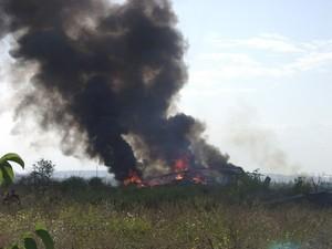 Под Славянском сбили украинский вертолет
