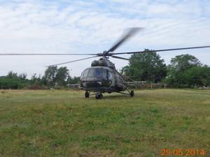 МИ-8 перед крушением