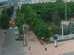 В центре Луганска прогремел взрыв (ФОТО)