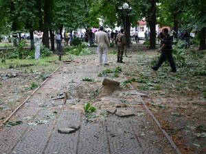 Представители АТО отрицают обстрел здания Луганской ОГА