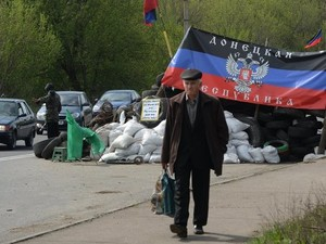 Террористы вымогают у беженцев деньги за выезд из Краматорска