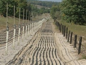 Часть российско-украинской границе под контролем террористов