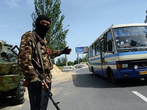 Представители ДНР захватили автобус с детьми