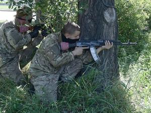 Под Луганском идет бой между террористами и нацгвардией