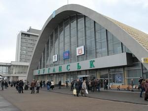 Боевики ЛНР контролируют вокзал в Луганске