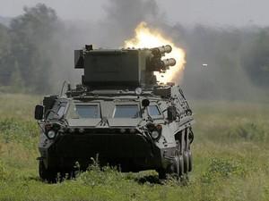 Украинские танки штурмуют поселок Ямполь