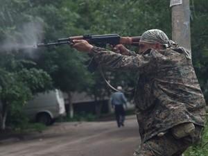 В Краснодоне террористы напали на шахтеров