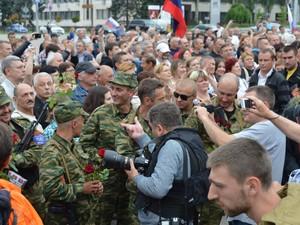 Террористы ДНР приняли присягу (ФОТО)