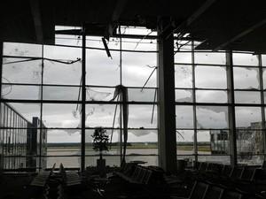 """Во что превратился аэропорт """"Донецк"""" после сражений украинской армии и террористов"""
