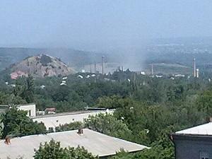 В Лисичанске украинский истребитель нанес удар по базе террористов