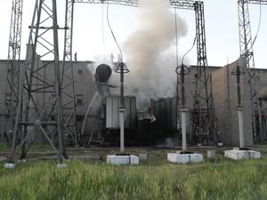 На данный момент ведутся работы по восстановлению электроподстанции.