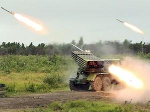 Аэропорт Луганска обстрелян из «Града»
