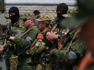 Донецкие террористы готовы прибегать к любым силовым методам, чтобы достичь своей цели.
