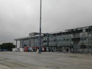 У Донецкого аэропорта бой