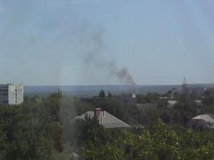 В Луганске прогремели мощные взрывы