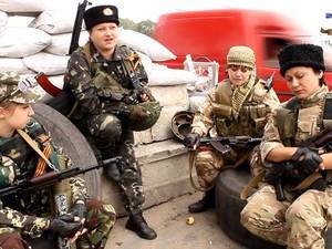 «Армия Юго-Востока» показывает женский батальон Северодонецка