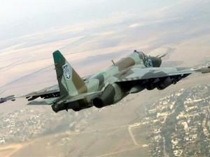 Военный самолет РФ сбил украинский Су-25, - СНБО