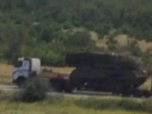 «Информационное Сопротивление» опубликовало фото «Бука» в колонне техники террористов
