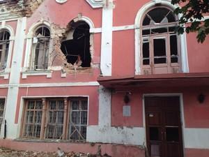 Обстановка в Луганске: обстрел по центру