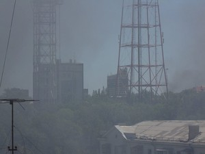 Обстрел Луганска продолжается. Бои ведутся в окрестностях города