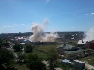 Луганск 21 июля: мощные взрывы, обстрел города продолжается