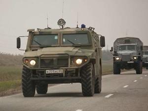 Ночью российская военная техника снова пересекла украинскую границу