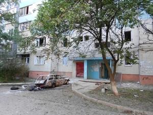 Шестой день обстрела Луганска начался спокойно. Несколько районов без света