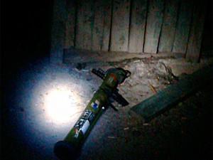 В Бердянске обстреляли здание СБУ из РПГ