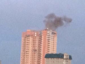 Луганск 28 июля: центр в дыму, бои на подходе к городу