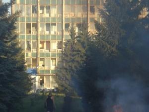 В Красном Луче прогремели взрывы в районе завода «Стандарт»