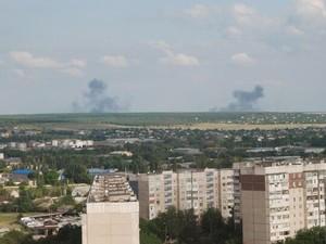 Август в Луганске начался относительно спокойно. В городе проблемы со светом и водой
