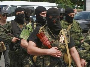 Боевики пытались захватить райотдел милиции в Славяносербске
