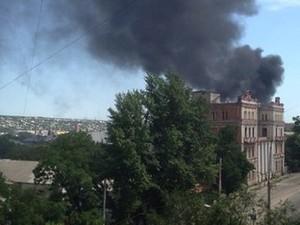 Луганск 5 августа: по городу стреляют тяжелой артиллерией
