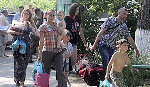 6 августа зону АТО по гуманитарному коридору покинули 500 человек