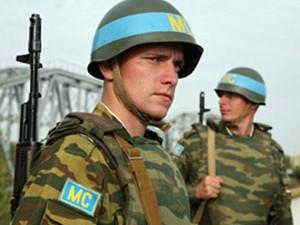 Шойгу призвал миротворцев РФ быть в боевой готовности