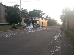 Луганская область 9 августа: взрывы в Красном Луче и военная техника в Ровеньках