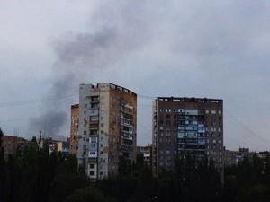 Ситуация в Донецке 9 августа: пострадал вокзал и Киевский проспект